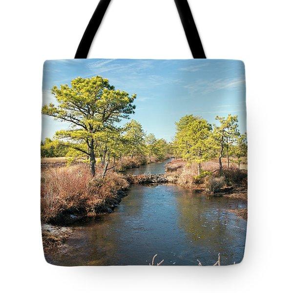 Pinelands Water Way Tote Bag