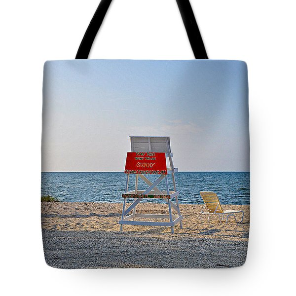 Piney Point Beach Tote Bag by Bill Cannon