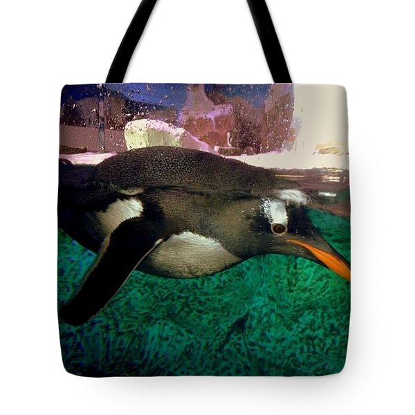 Pinguin At Denmark Tote Bag