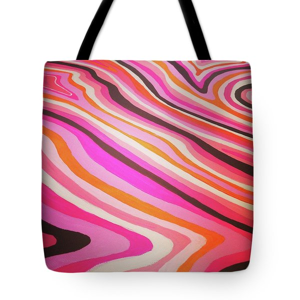 Pink Alleys  Tote Bag by Margalit Romano
