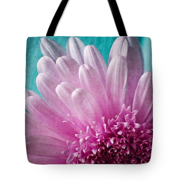 Pink And Aqua Tote Bag