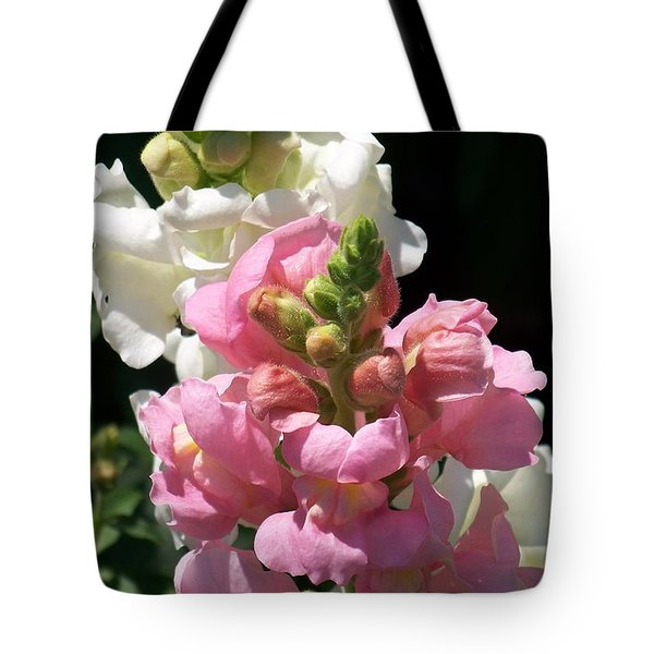 Tote Bag featuring the photograph Sweet Peas by Eunice Miller