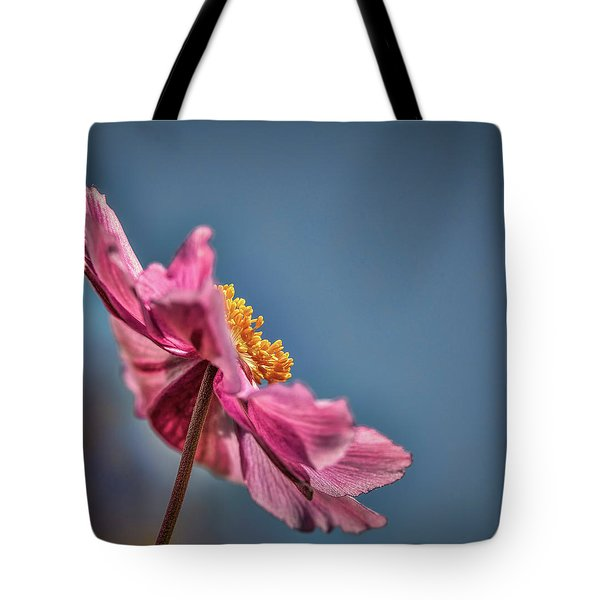 Pink And Yellow Profile #h8 Tote Bag