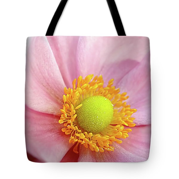 Pink Anemone Tote Bag by Kaye Menner