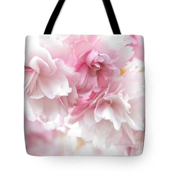 Pink April Tote Bag
