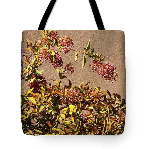Pink Autumn Tote Bag