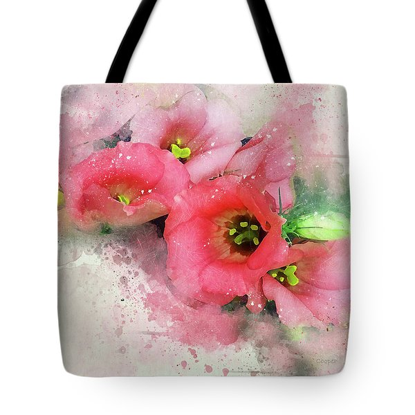 Pink Babies A Tote Bag