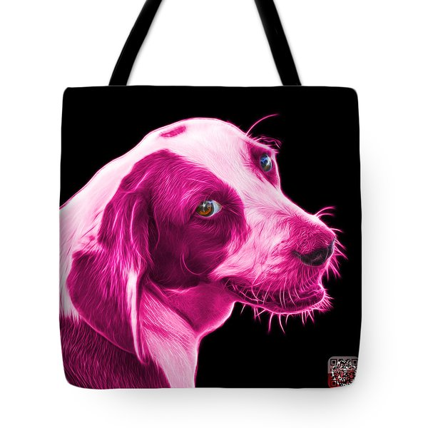 Pink Beagle Dog Art- 6896 - Bb Tote Bag