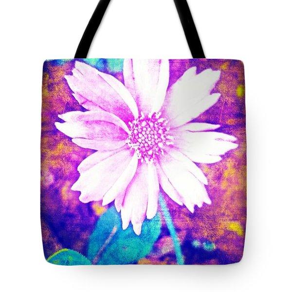 Pink Bloom Tote Bag
