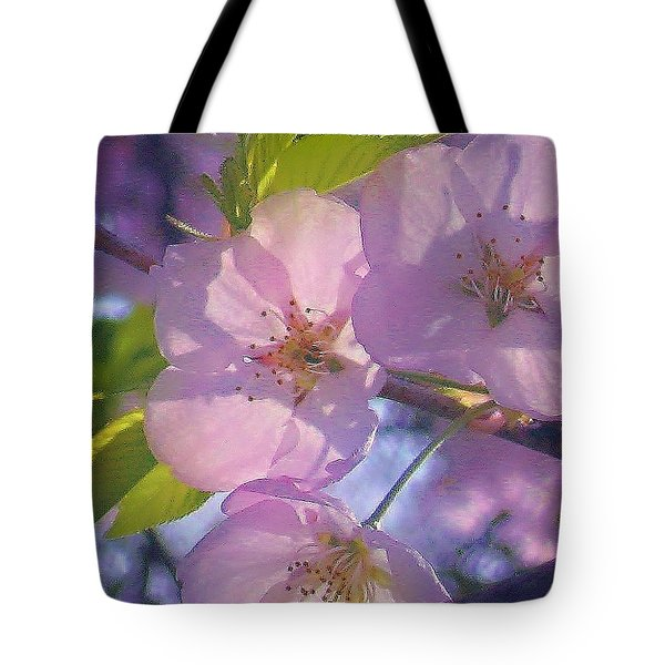 Pink Blossoms 2 Tote Bag