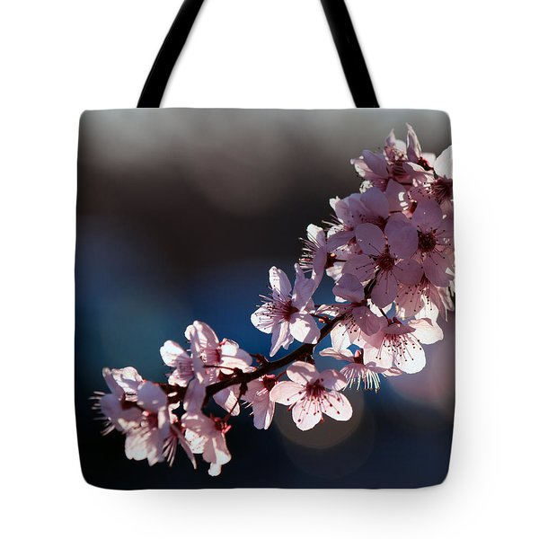 Pink Blossoms Tote Bag by Don Gradner