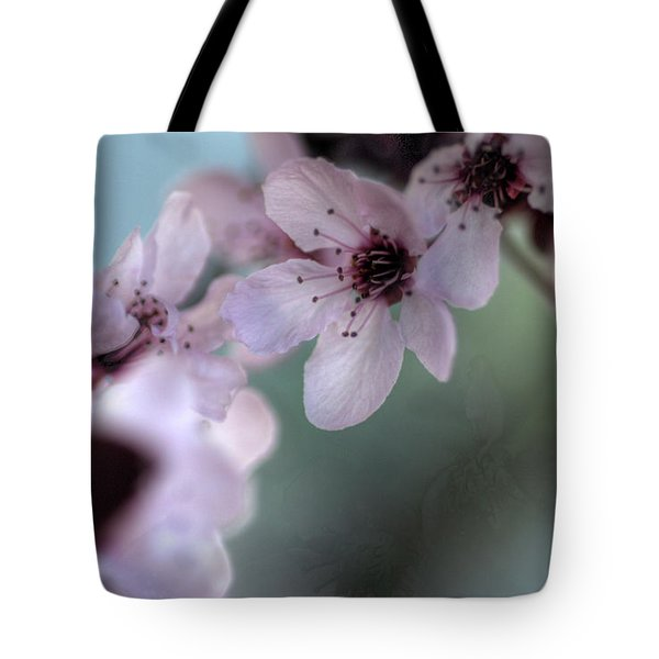 Tote Bag featuring the photograph Pink Blossoms by Jim and Emily Bush