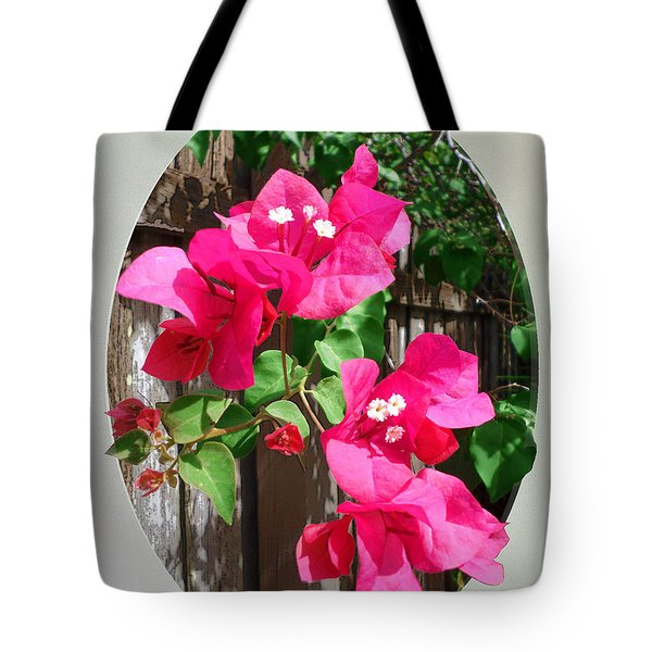 Pink Bougainvillea Tote Bag