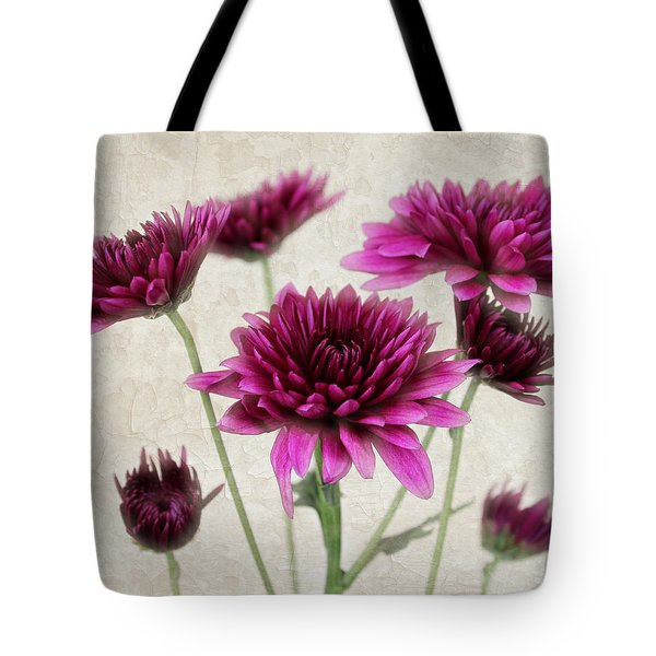 Pink Bouquet Tote Bag by Judy Vincent