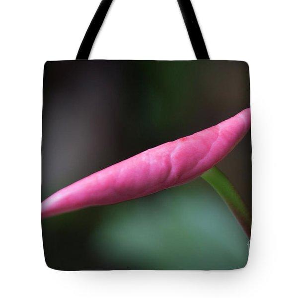 Pink Bud Tote Bag