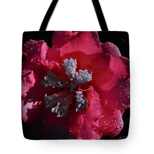 Pink Camillia And Selected Color Tote Bag