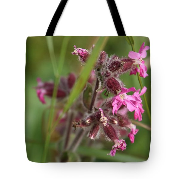 Pink Campion In August Tote Bag