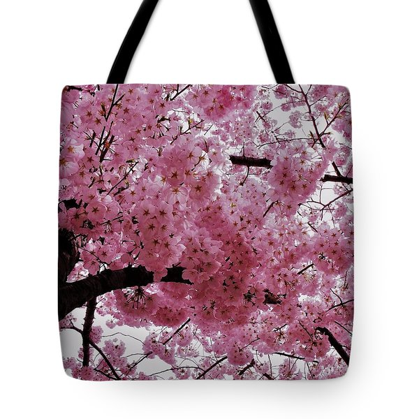Pink Canopy Tote Bag