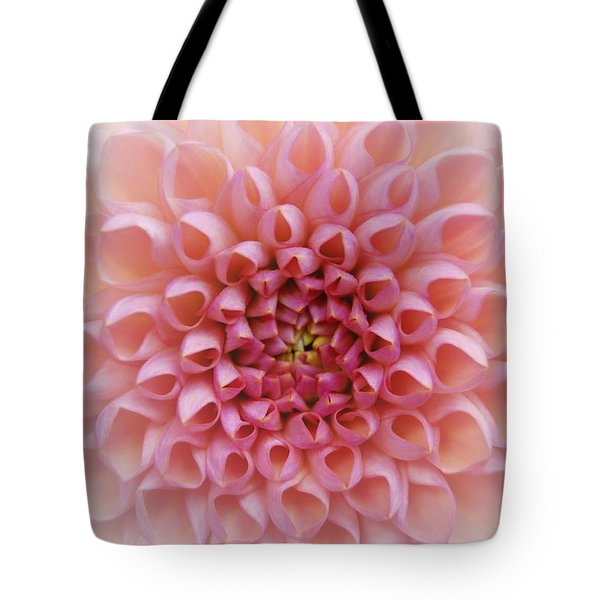 Pink Chrusanthemum Tote Bag