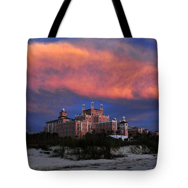 Pink Cloud Tote Bag by David Lee Thompson