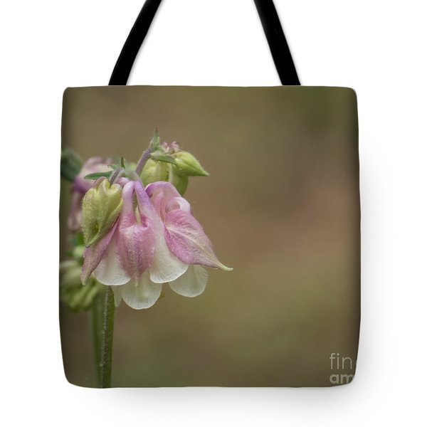 Pink Columbine II 2015 Tote Bag