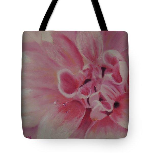 Pink Dahlia II Tote Bag