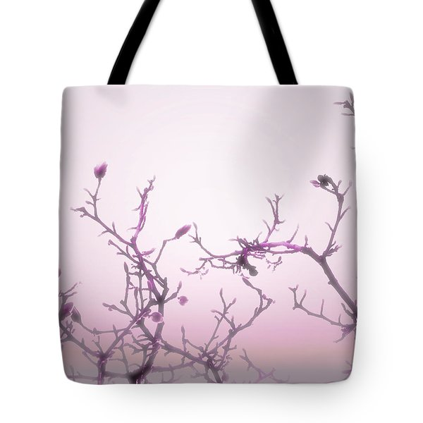 Pink Dawn Tote Bag