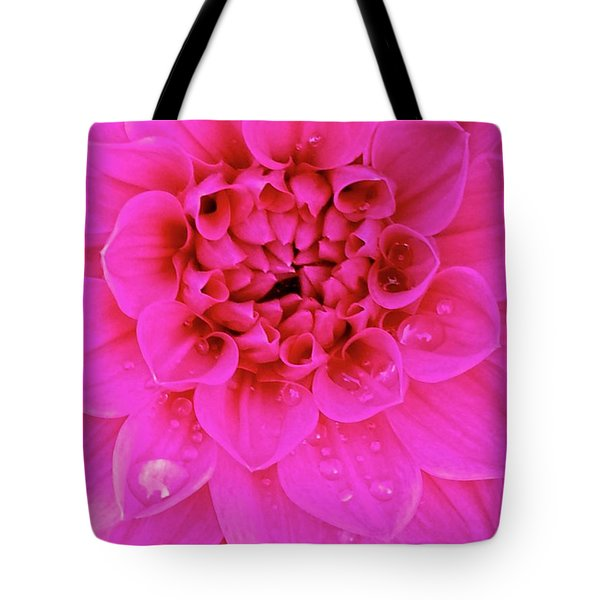 Pink Delight Tote Bag by Cathy Dee Janes