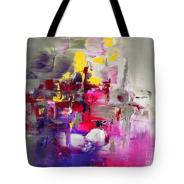 Pink Diamond Tote Bag