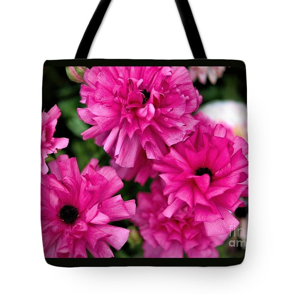 Tote Bag featuring the photograph Pink by Diana Mary Sharpton