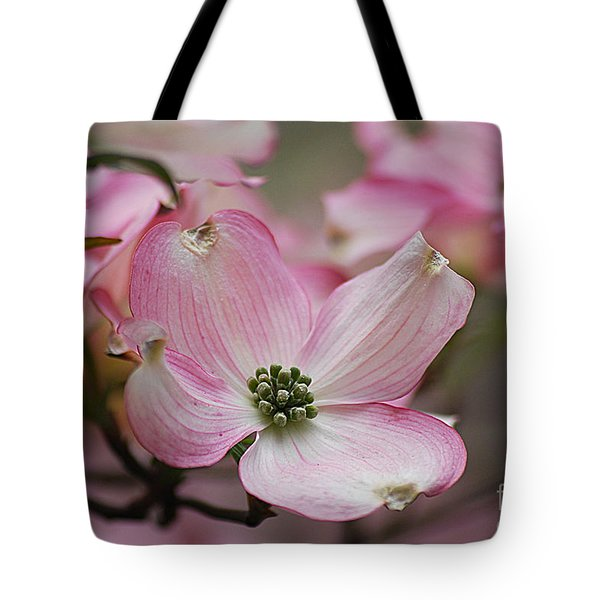 Tote Bag featuring the photograph Pink Dogwood 20120415_70a by Tina Hopkins