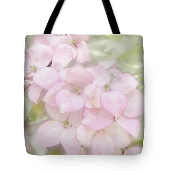Pink Dogwoods Tote Bag