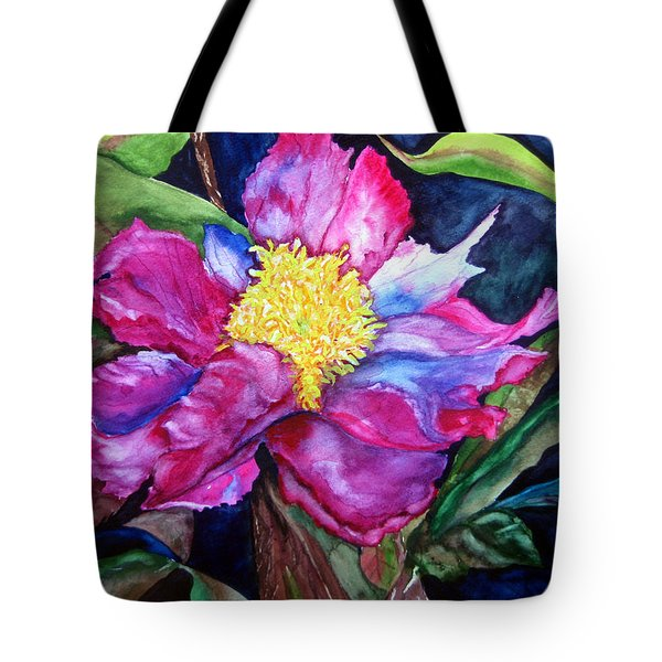Pink Drama Tote Bag by Lil Taylor