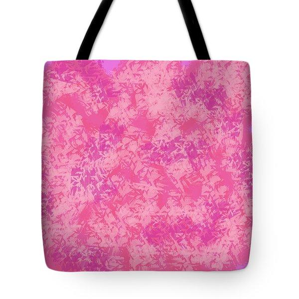 Pink Elegance Tote Bag