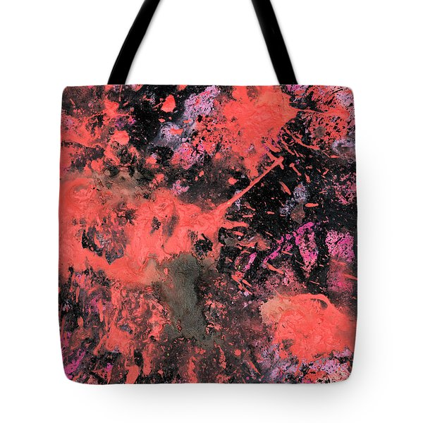 Pink Explosion Tote Bag
