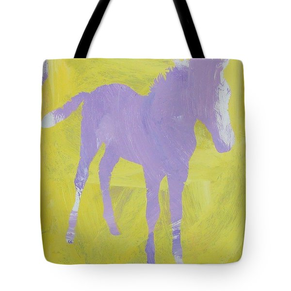 Pink Filly Tote Bag