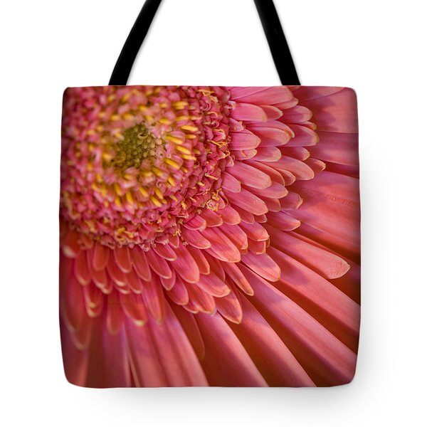 Pink Flower Tote Bag by George Robinson