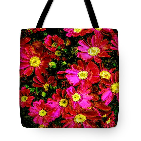 Pink Friends Tote Bag by Phill Petrovic