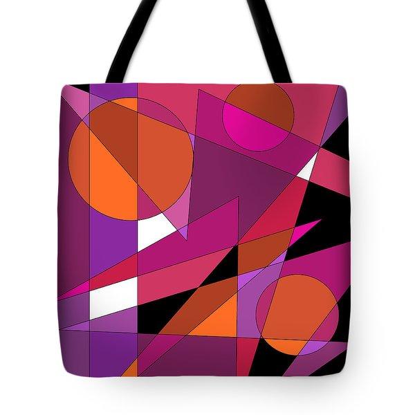 Pink Fusion Tote Bag