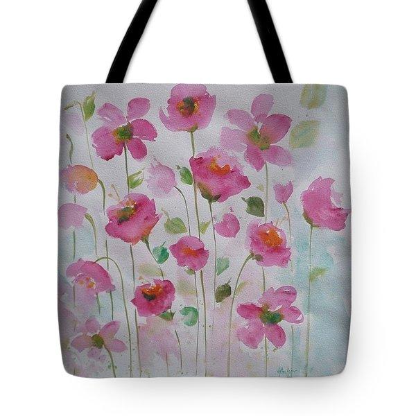 Pink Garden 1 Tote Bag