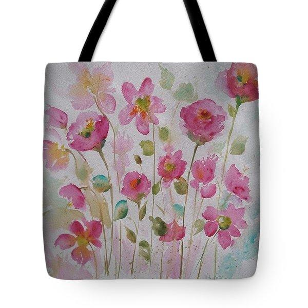 Pink Garden 2  Tote Bag