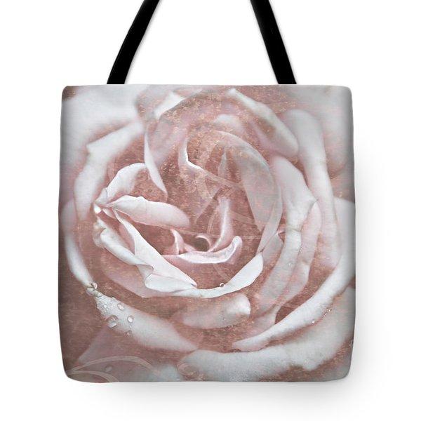 Pink Garden Rose Tote Bag