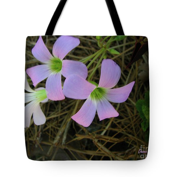 Tote Bag featuring the photograph Pink Glow by Donna Brown