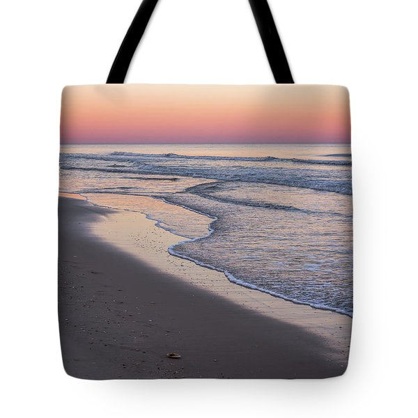 Pink Glow Seaside New Jersey 2017 Tote Bag