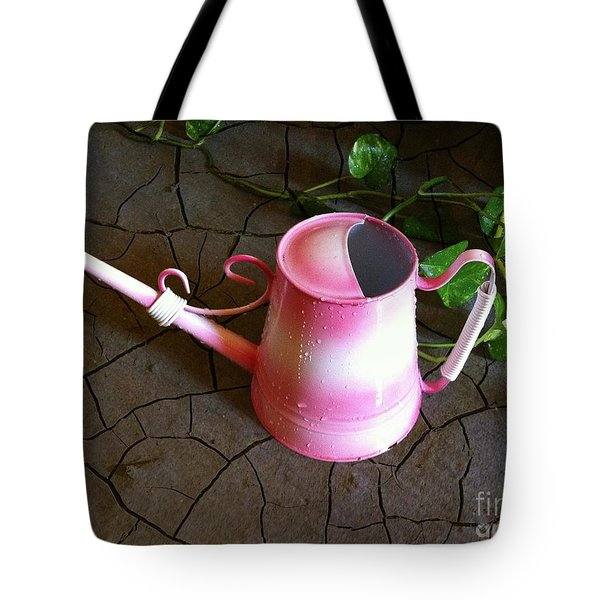 Pink Hope Tote Bag