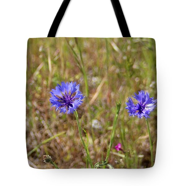 Tote Bag featuring the photograph Pink In Between by Marie Neder