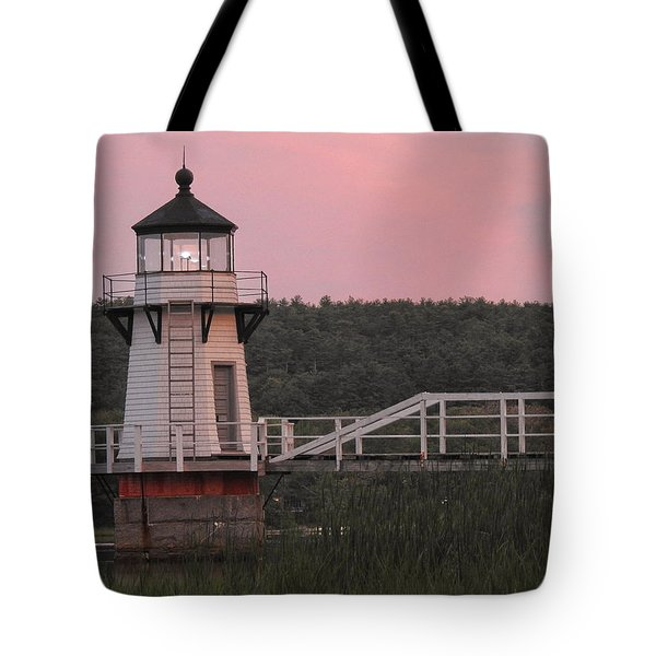 Pink In The Morning Tote Bag
