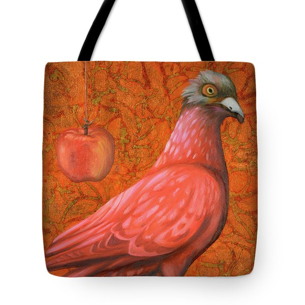Pink Lady Tote Bag by Leah Saulnier The Painting Maniac
