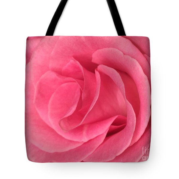 Pink Layers Tote Bag