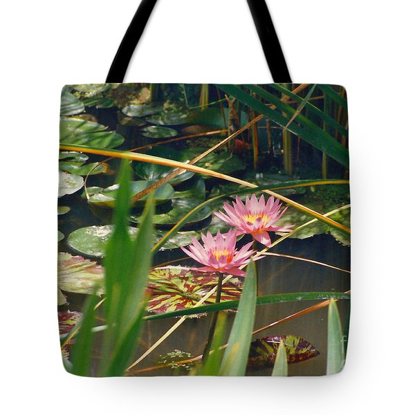 Pink Lillies 6-25-11 Tote Bag